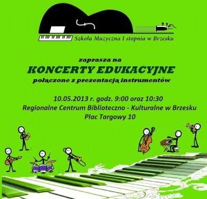 brzesko1 plakat koncerty edukacyjne 2