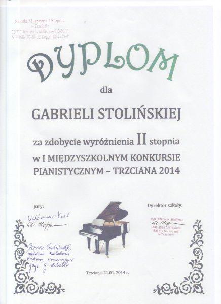 Miedzyszkolny Trzciana 2014