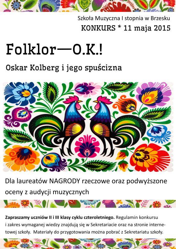 Folklor--O.K.!