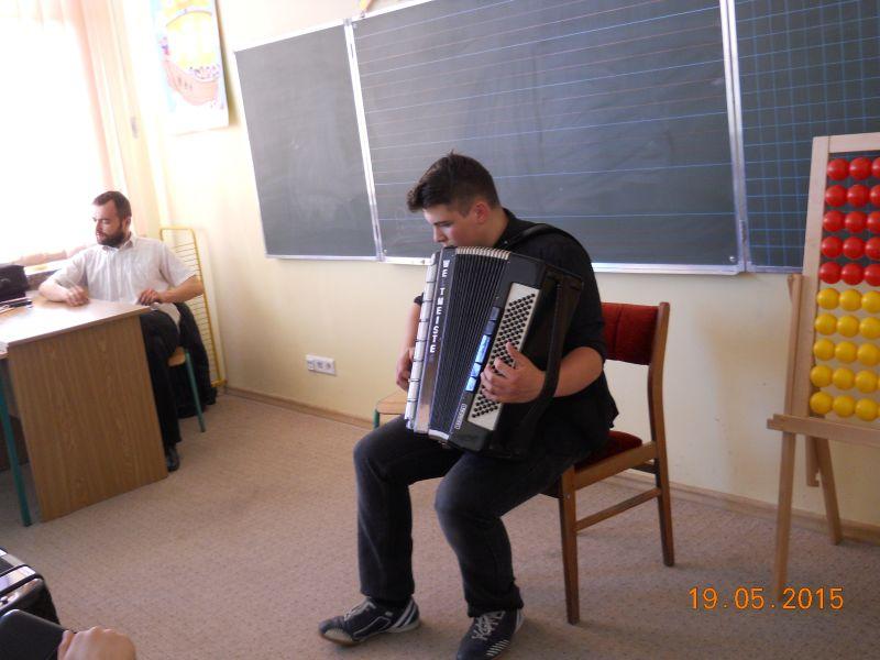 Audycja akordeon maj 2015