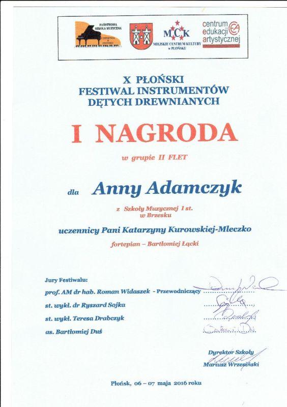 anna adamczyk płońsk